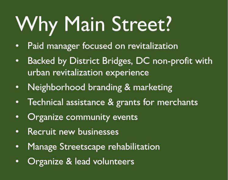 Why Main Street